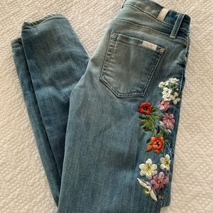 7 For all mankind The Ankle Skinny